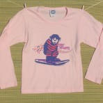 CHILD'S PINK LONGSLEEVE